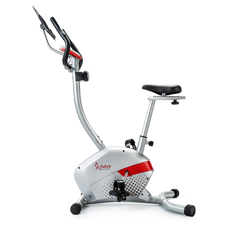 美国Sunny Health&Fitness 家用坐式皮带静音磁控车SF-B2511H 灰色/黑色