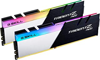 G.Skill Trident Z Neo 系列 32GB (2 x 16GB) 288-Pin SDRAM PC4-28800 DDR4 3600MHz CL16-19-39 1.35V 臺式機內存型號 F4-3600C16D-32GTZNC