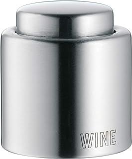 WMF Clever&More 红酒瓶塞 Cromargan亚光不锈钢,高度4.7cm,Ø4cm