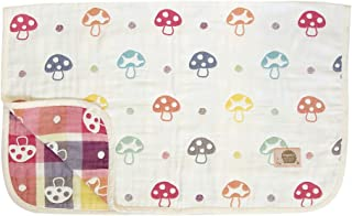 日本Hoppetta 寶寶6層透氣紗布 四季通用空調被 M碼(約90×110cm)