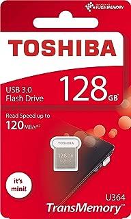 東芝 128GB 128G USB 3.0 閃存盤 TransMemory U364 USB3.0 閃存盤 迷你 USB *棒 可讀取 120MB/s (THN-U364W1280A4)