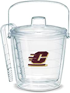 Tervis 1053350 Central Michigan University Emblem Individually Boxed Ice Bucket, 87 oz, Clear