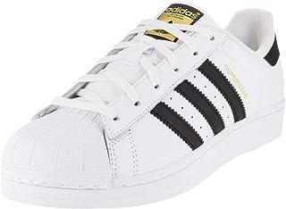 adidas Originals superstar W 女式时尚运动鞋 White/Black/White 10.5 B(M) US