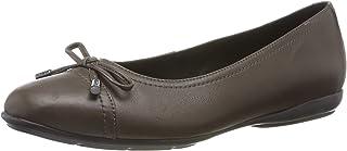 Geox 健乐士 D Annytah D 女士封闭芭蕾舞鞋 棕色(Chestnut C6004) 36.5 EU