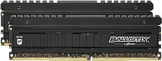 Ballistix Elite 8GB DDR4 4000 MT/s (PC4-32000) CL18 SR x8 无缓冲 DIMM 288pin BLE8G4D40BEEAK 16GB Kit (8GBx2)