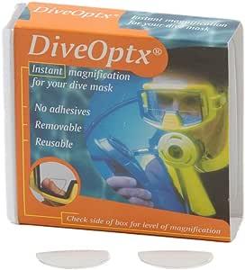 Trident Optx Flexible Dive Mask Magnifiers (pair) 2.5