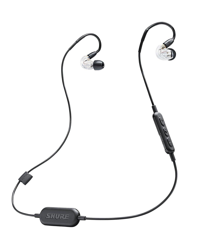 Shure 舒尔无线入耳式耳机 BT1系列 SE215