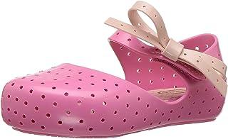 迷你 melissa 儿童迷你 furadinha X Mary JANE 平底鞋 Pink Candy 10 M US Toddler