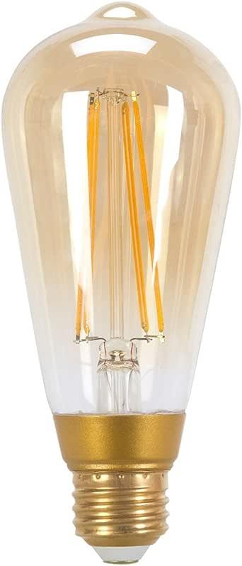 Globe Electric 73193 LED Vintage Edison 5W Light Bulb, Small, Yellow