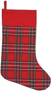 KIG Exclusive Arlington 圣诞格子长筒袜 Men's Stocking