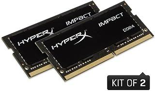 HyperX Impact HX429S17IBK2/32 32 GB (2 x 16 GB)2933MHz DDR4 CL17 SODIMM 内存套件