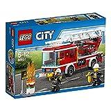 LEGO 乐高 City城市系列 云梯消防车 60107 5-12岁 积木玩具