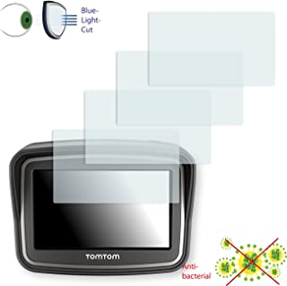 DISAGU 4 x 屏幕保护膜适用于 TomTom Rider V4 (2013) 屏幕保护膜透明屏幕 - *蓝光过滤器