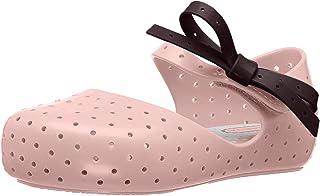 迷你 melissa 儿童迷你 furadinha X Mary JANE 平底鞋 沙砾色 7 Regular US Toddler