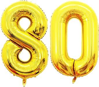 GOER Gold Number 气球 10 20 60 80 2017 1980 1920 80 Goer-NUBO-80