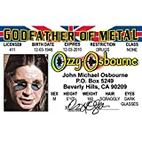 Signs 4 Fun Nroido Ozzy 司机许可证