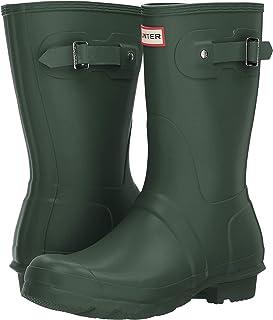 Hunter 女式原创短款后背可调节雨鞋