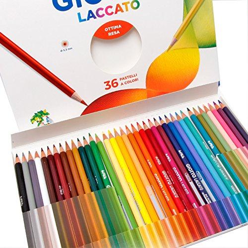 GIOTTO 奇乐 Laccato 36色彩色铅笔 (意大利品牌)