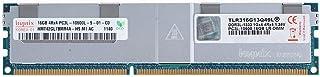 V-Color 32GB (1 x 32GB) 四列服务器内存 Ram 模块* DDR3 1600MHz (PC3-12800) 负载缩小 DIMM 带散热器 1.35V CL11 4Rx4 (TLR332G16Q411L) 16GB