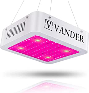Vander 600W LED 生长灯 适用于室内植物 蔬菜和花卉 全光谱 UV&IR 600W Single switch