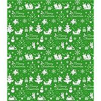 SEASON 台湾四季 BZ3019-01 圣诞长铝箔包装纸-树公 (綠)