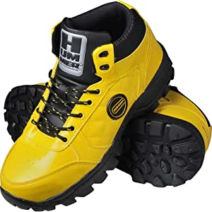 弘进橡胶 运动鞋 Hammer HS-008 黄色 25.5cm E0814BB