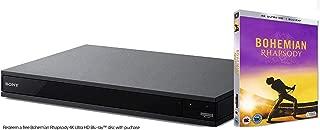 Sony 索尼 UBP-X800M2 4K 超高清蓝光播放器(多*气,UHD,HDR,高分辨率音频,多房间,蓝牙)黑色 UBP-X800M2