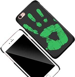 Thermal sensor phone case 6 Plus-Green
