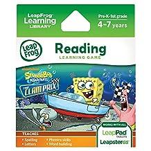 LeapFrog 海绵宝宝平角裤:Clam Prix 学习游戏(与 LeapPad 平板电脑、Leapster GS 和 Leapster Explorer 配套使用)