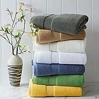 Ruichun 出口欧美埃及棉浴巾650克 加大加厚 高支高密柔软吸水 婴儿级别安全 亲肤环保 70 * 140cm (白色)
