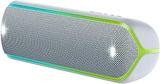 Sony 索尼 SRS-XB32 无线蓝牙音箱(便携式,NFC,彩色长条灯,超重低音,频闪灯,防水,与Party Chain兼容,免提通话功能),红色