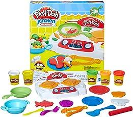 Hasbro 孩之宝 Play-Doh 培乐多彩泥 创意厨房系列嗞嗞炉灶套装 B9014