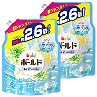 Bold 洗衣液 清新纯净的香味 替换装 超大 1.58kg×2个