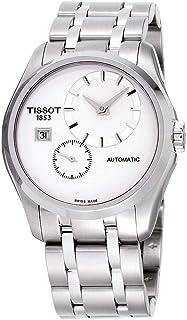 Tissot Couturier 白色表盘不锈钢自动男式 T0354281103100
