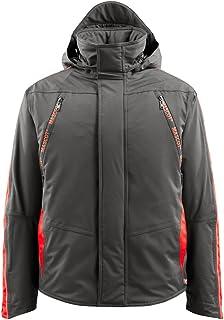 Mascot 15035-222-18222-XL Tolosa Pilot 夹克,XL 码,深无*煤色/红色