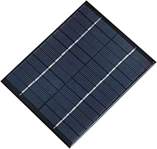 NUZAMAS 2W 12V 160ma 迷你太阳能电池板模块太阳能系统电池户外露营电池充电器 DIY 零件