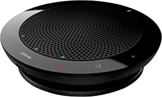Jabra Speak 410 PC-Headset USB 2.0 耳道式/入耳式 黑色