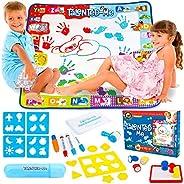 Talented-Me Aqua 涂鸦垫 | 儿童玩具适合 3 4 5 6 7 8 岁男孩和女孩 | 免费附赠笔盒,便于存放 | Aquadoodle 垫子是很棒的礼物 | 水绘图垫可让幼儿忙碌数小时