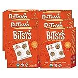 Bitsy's Brainfood 多件装好吃的饼干,甘薯燕麦葡萄干,4盎司(113.2克),6件装