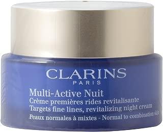 Clarins 嬌韻詩多效晚霜 1.6 盎司 CLARINS 嬌嫩肌膚/多效修護晚霜 1.6 盎司中性至混合肌膚