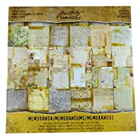 "Idea-Ology Paper Stash Double-Sided Paper Pad 12""X12"" 36/Pkg-Memoranda"