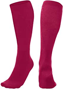 Champro Sports Multi-Sport Socks, Cardinal, Large