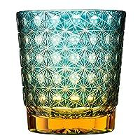 全玻璃贴边水晶玻璃琥珀小姐/绿色