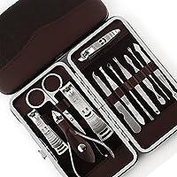 不锈钢指甲剪12件套 修眉剪 指甲钳 美甲工具十二件套 出行必备小工具