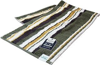 (内野)UCHINO TOWEL GALLERY(UCHINO TAERRY) 力量全干「城市」 运动毛巾 约34×110cm 绿色 8818S742 G