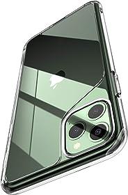 i-Blason 光环系列适用于 iPhone 11 Pro Max,防刮透明手机壳,适用于 iPhone 6.5 英寸 2019 版本IP65-Halo-Clear 透明