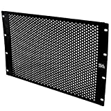 Seismic Audio - SARRSP-22-6 空间通风服务器网络 PA/DJ 机架隔板 - 6U 48.26 厘米机架安装面板