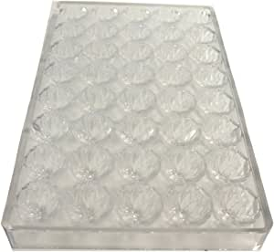 Martellato Polycarbonate Chocolate Mold, Center Swirl