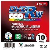 山善(YAMAZEN)KORAION(山善) 电视反复录像用 DVD-RW 2倍速 4.7GBQDRW-10C 10枚ケース