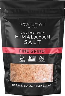 Evolution Salt 美味粉红喜马拉雅细盐 5磅(2.2kg)
